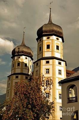 Monastic Towers Original by Elzbieta Fazel