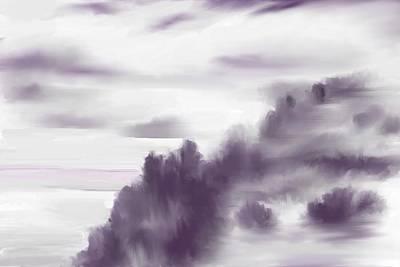 Digital Art - Monchrome 1 by David Lane