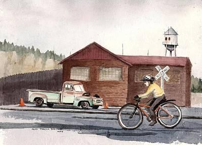 Monday Commute Art Print