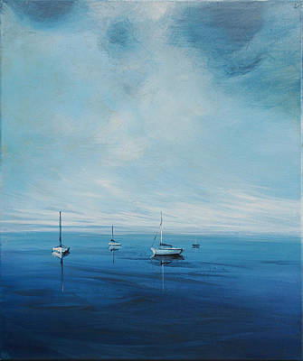 Painting - Monday Morning by Michele Hollister - for Nancy Asbell