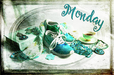 Photograph - Monday Shoes by Randi Grace Nilsberg