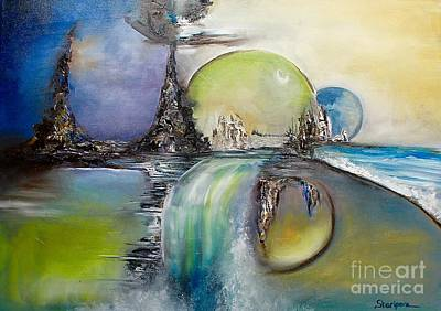 Mondo Parallelo Original Artwork Original by Elmira Sharipova