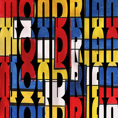 Photograph - Mondrian 1 by Andrew Fare