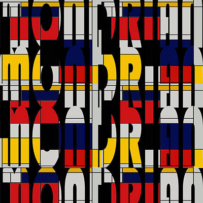 Photograph - Mondrian 2 by Andrew Fare