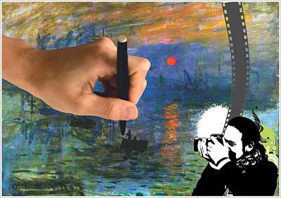 Monet Collage Original