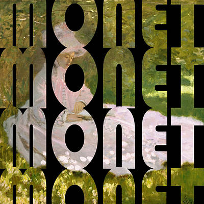 Photograph - Monet 3 by Andrew Fare