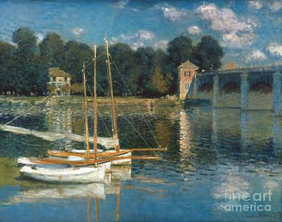 Photograph - Monet: Argenteuil by Granger
