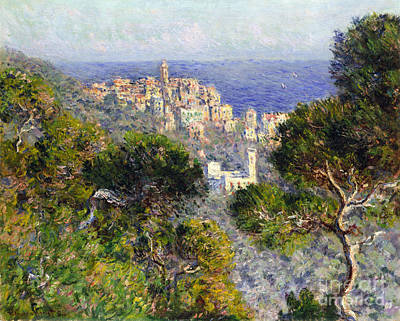 Photograph - Monet: Bordighera, 1884 by Granger