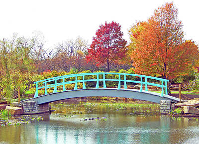 Photograph - Monet Bridge by Ellen Henneke