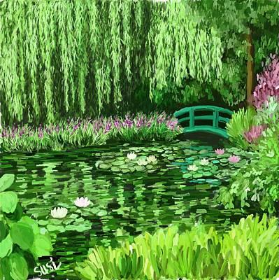 Monet Bridge Original