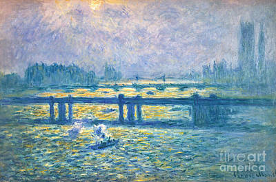 Impressionist Photograph - Monet: Charing Cross by Granger