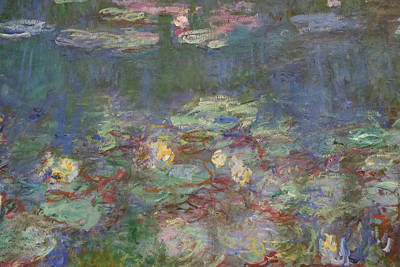 Photograph - Monet Water Lilies by August Timmermans
