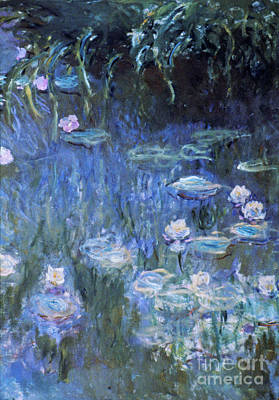 Impressionist Photograph - Monet: Waterlilies by Granger