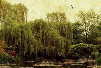 Monet's Garden Art Print by Margaret Hormann Bfa