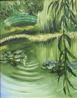 Painting - Monet's Garden by Tina Swindell