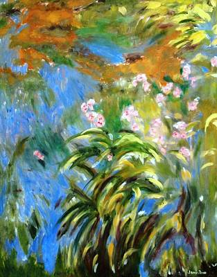 Painting - Monet's Irises by Jamie Frier