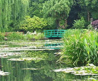 Monet's Lily Pond Print by Krista Kulas