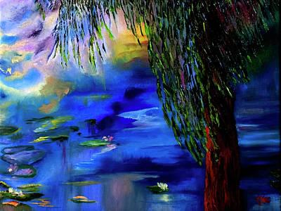 Painting - Monet's Tree by Terry R MacDonald