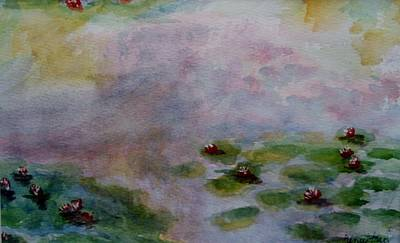 Painting - Monet's Water Lilies by Jamie Frier
