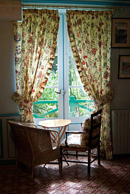 Photograph - Monet's Window Seat by Jani Freimann