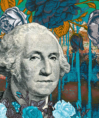 Politicians Mixed Media - Money For Nothing by Ricki Mountain