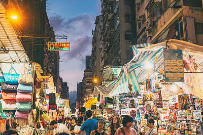 Mongkok Of Hong Kong Art Print