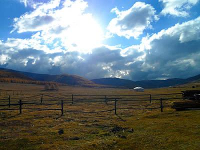Brindle Photograph - Mongolia Nomadic by Scott Brindle