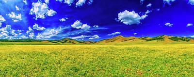 Photograph - Mongolian Panorama by Kanenori
