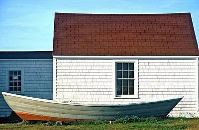 Photograph - Monhegan Boat by AnnaJanessa PhotoArt