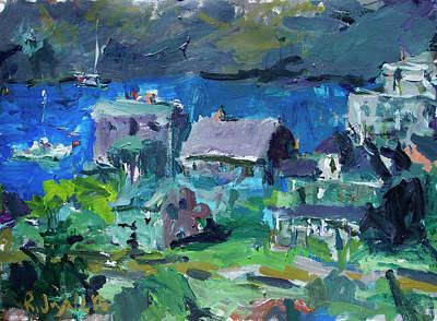 Painting - Monhegan Island Painting by Robert Joyner