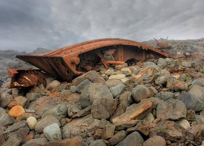 Monhegan Photograph - Monhegan Shipwreck by Lori Deiter