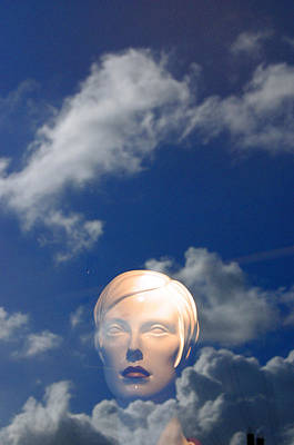 Monica In The Clouds 2 Art Print by Jez C Self