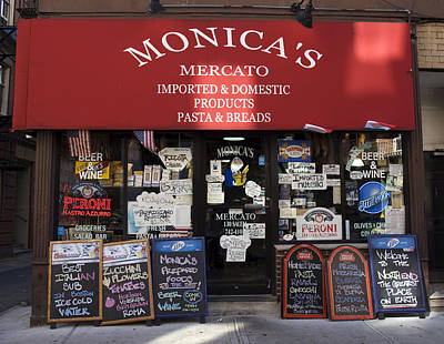 Photograph - Monica's Mercato by Mary Capriole