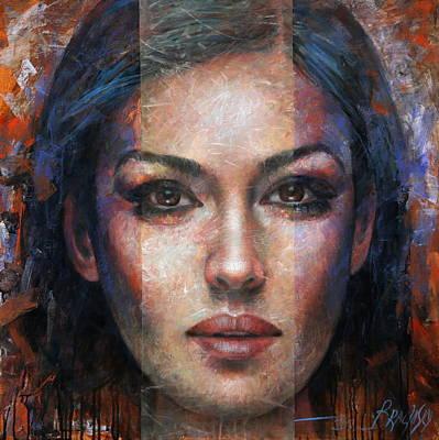 Painting -  Monika 2 by Arthur Braginsky