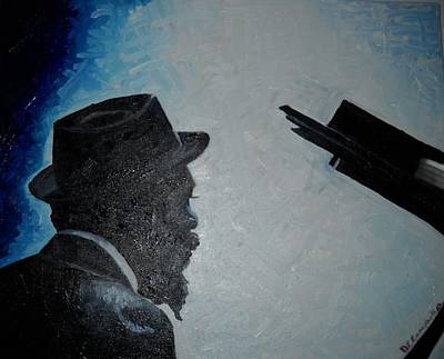 Thelonious Monk Painting - Monk by Dawn Campbell