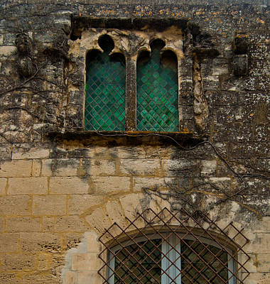 Photograph - 14th Century Stained Glass Windows 2 by Jani Freimann