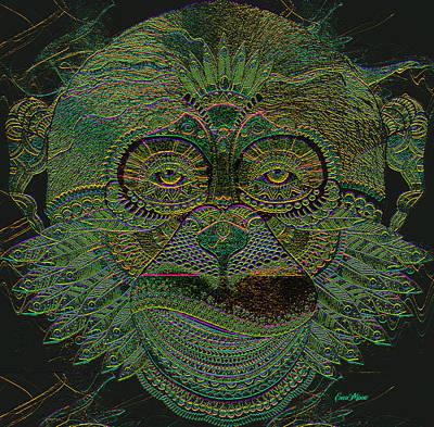 Digital Art - Monkey 785 by Ericamaxine Price