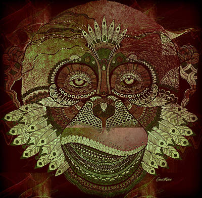 Digital Art - Monkey 788 by Ericamaxine Price