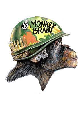 Bear Photography - Monkey Brain by Ole Hedeager Mejlvang