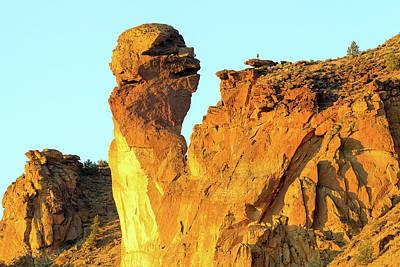 Photograph - Monkey Face Pillar At Smith Rock by David Gn