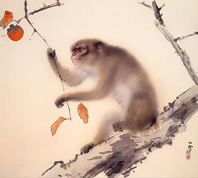 Monkey Art Print by Mountain Dreams