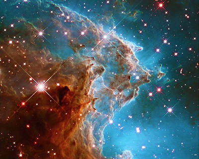 Photograph - Monkey Head Nebula Ngs 2174 by Paul W Faust - Impressions of Light