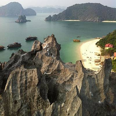Photograph - Monkey Island Halong Bay by Paul Dal Sasso