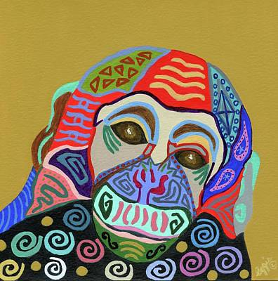 Painting - Monkey Magic by Stephanie Agliano