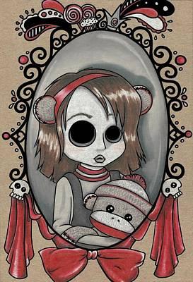 Monkey Muffins Art Print