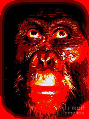 Digital Art - Monkey See by Ed Weidman