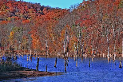Photograph - Monksville Reservoir 8 by Allen Beatty