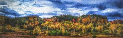 Monkton Ridge, Vt Art Print