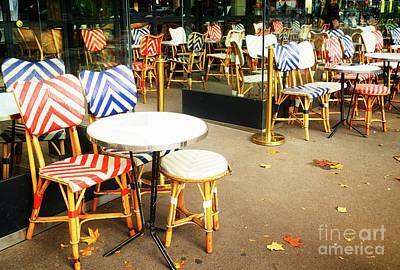 Photograph - Parisian Cafe by Anastasy Yarmolovich