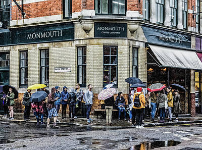 Que Photograph - Monmouth Coffee Company by Darryl Brooks